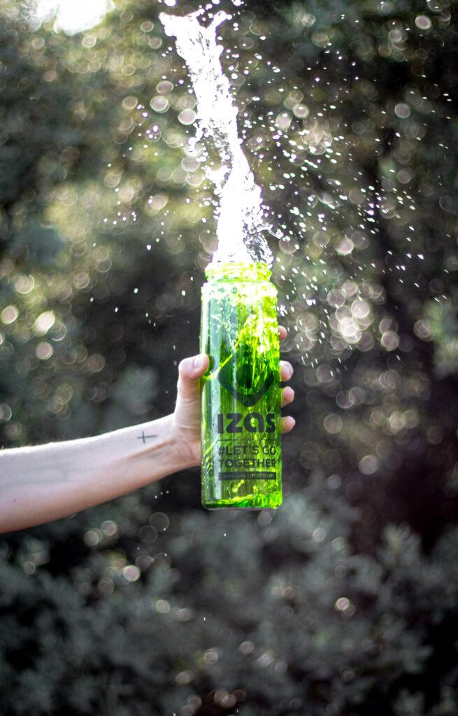 Botella Agua Trekking
