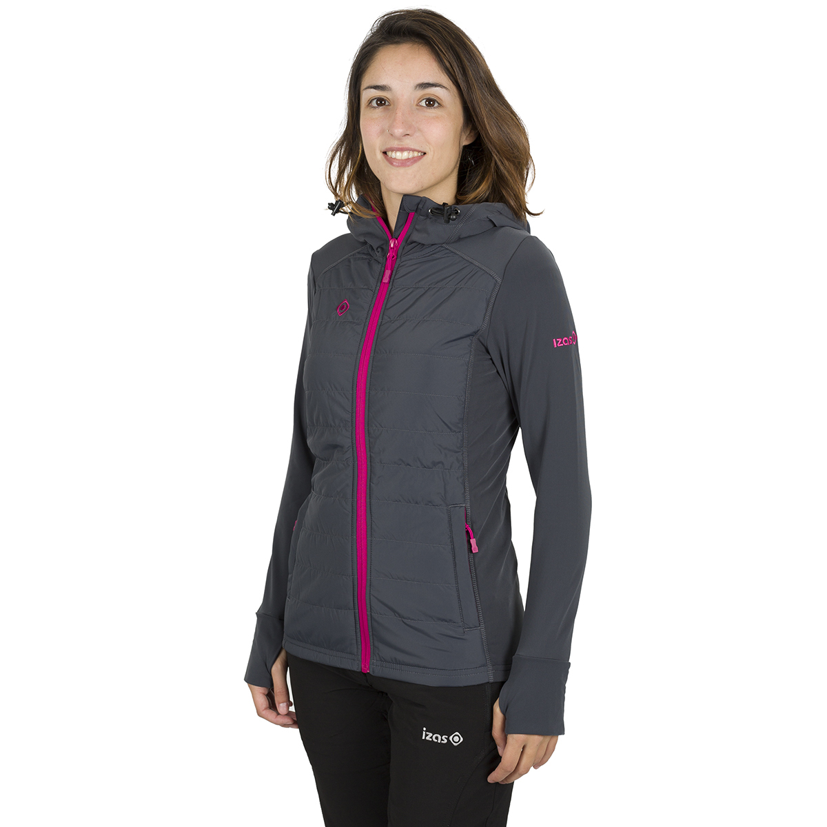 CHAQUETA MUJER GRIS ANAYET