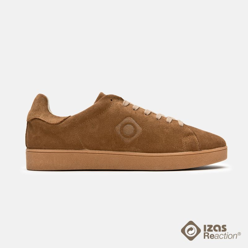 Zapatillas urbanas recicladas marrón Savia