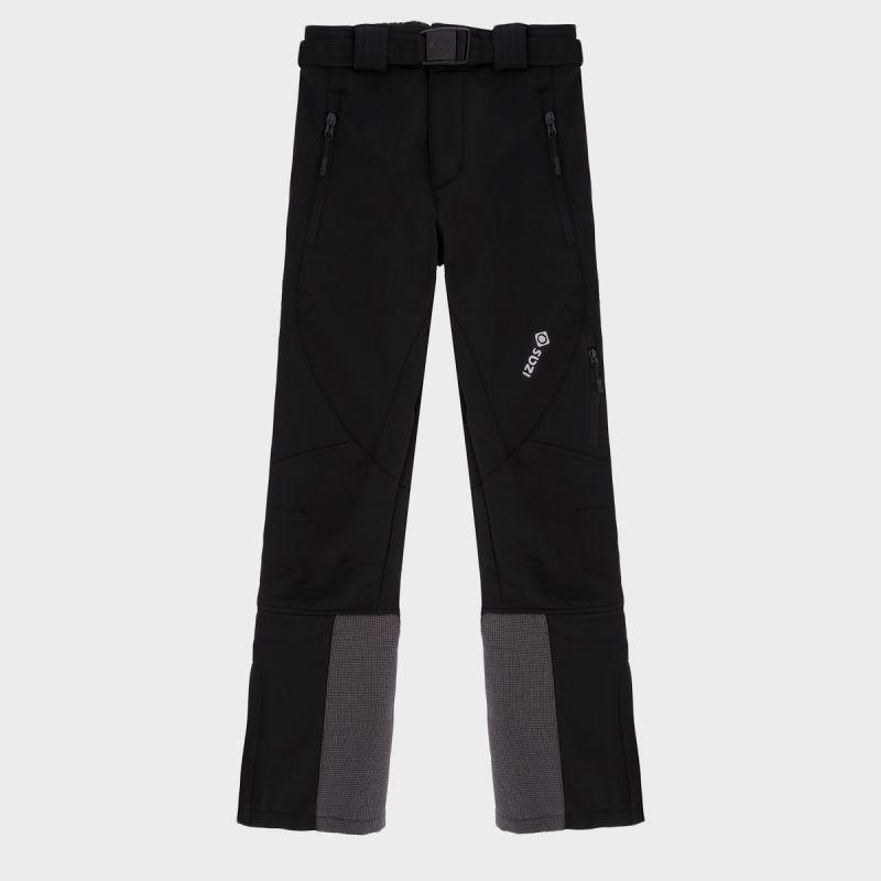 Pantalón de montaña negro para niño Malcus