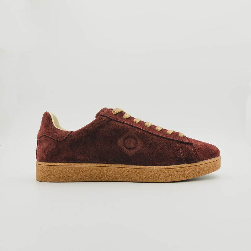 Zapatillas urbanas recicladas rojas Savia