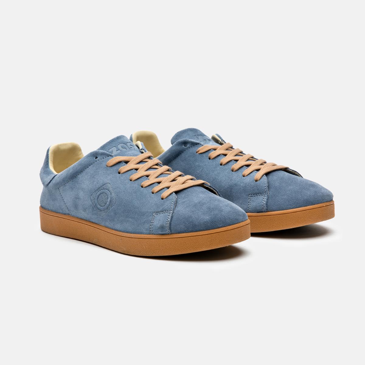 Zapatillas urbanas recicladas azul Savia