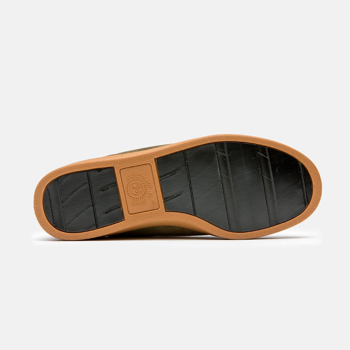 Zapatillas urbanas recicladas caqui Savia