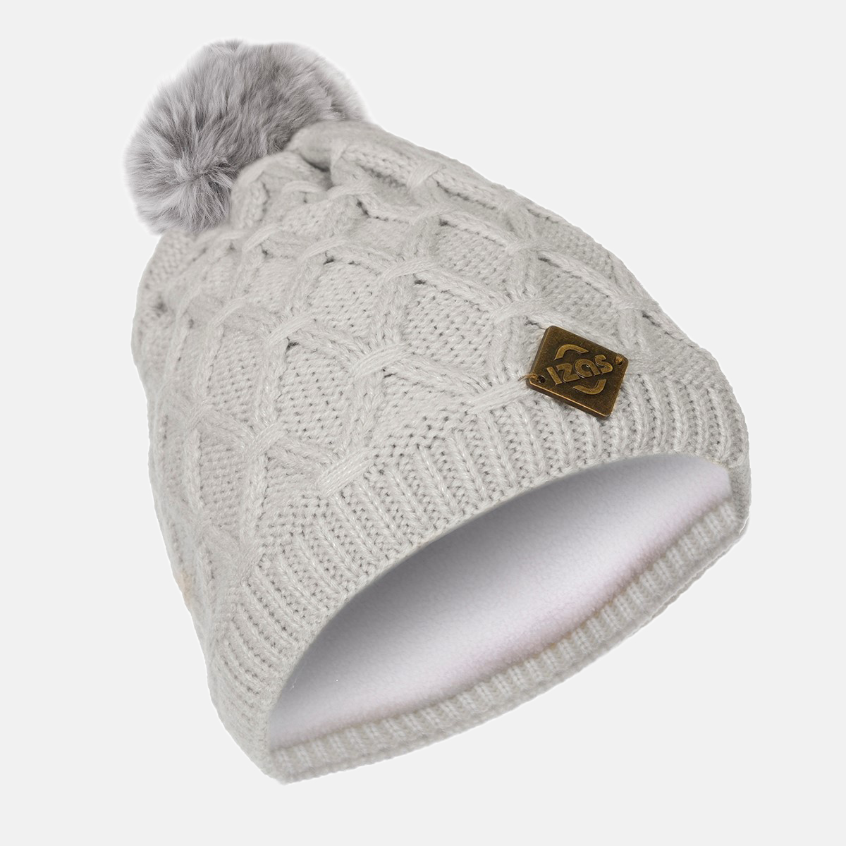 GORRO MUJER GRIS MACAO
